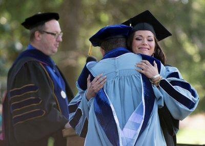 קולג', טקס סיום, תואר ראשון