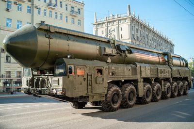 טיל גרעיני, מצעד צבאי, מוסקבה, טיל בין-יבשתי
