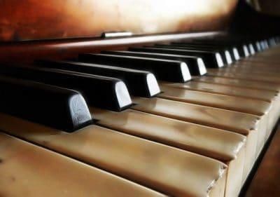 פסנתר, קלידים