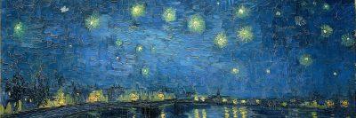 לילה זרוע כוכבים, ואן גוך