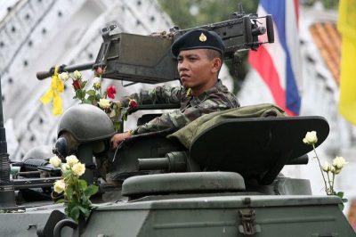 תאילנד, הפיכה צבאית, פרחים