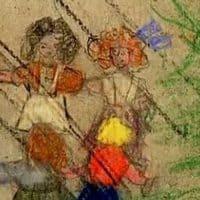 טרזיינשטט, ילד, ציור