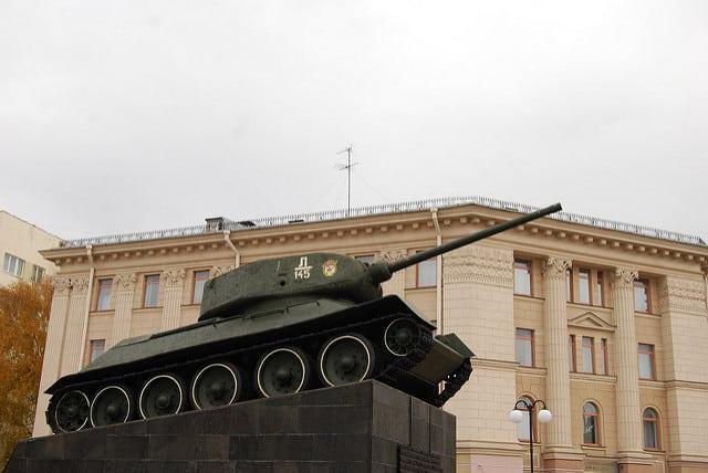 ט-34, טי-34, מינסק, בלרוס, טנק סובייטי
