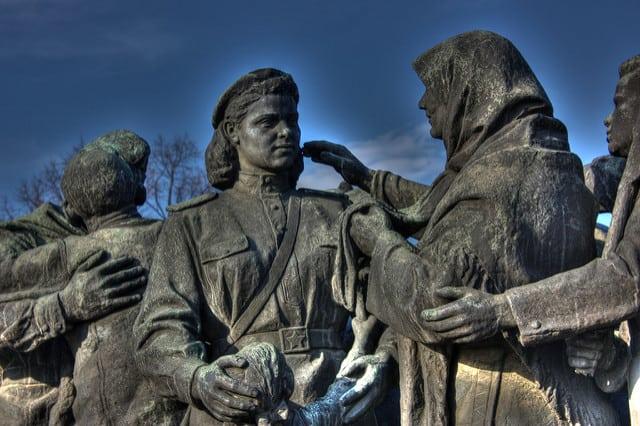 סופיה, בולגריה, נשים, הצבא האדום