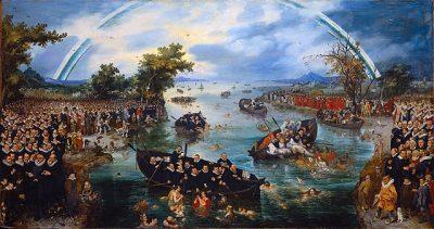 דיג נשמות, אדריאן פיטרס, אדריאן ון דה-וונה, פרוטסטנטים, קתולים, אמסטרדם