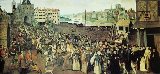 הליגה הקדושה, תהלוכה דתית, פריס, 1590