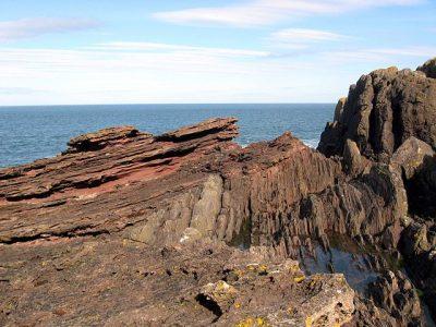 אי-התאמה גאולוגית, סקוטלנד, Siccar Point