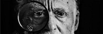 איש זקן, עיניים, בדיקת עיניים