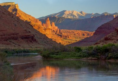 נהר הקולורדו, יוטה