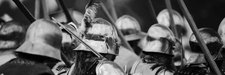 מצעד, חיילים, ימי הביניים