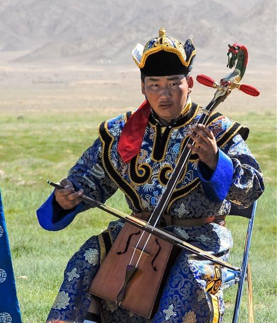 מורין ח'ור, כינור, מונגוליה