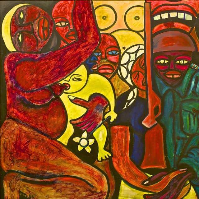מוזמביק, עצמאות, אמנות