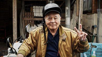 אוקינאווה, יפן, שוק, זקן