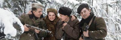 פיי שולמן, פרטיזנים, רוסיה, מלחמת העולם השנייה