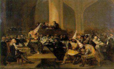 האינקוויזיציה הספרדית, פרנסיסקו גויא