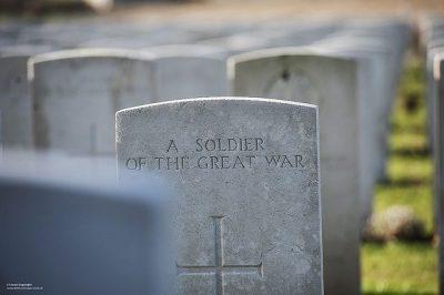 קבר, בית קברות צבאי, בלגיה, מלחמת העולם הראשונה