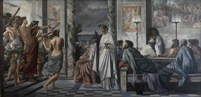 הסימפוזיון של אפלטון, אנסלם פויירבך