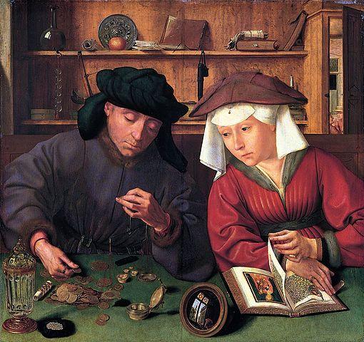 החלפן ואשתו, קנטן מסיס