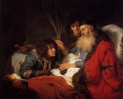 יצחק מברך את יעקב, חוברט פלינק