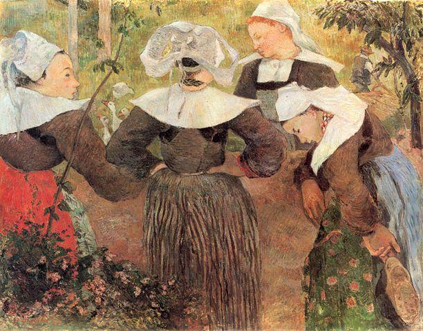 ארבע נשים ברטוניות, פול גוגן
