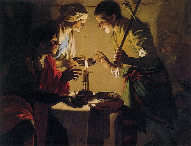 עשיו, יעקב, בכורה, Hendrick ter Brugghen