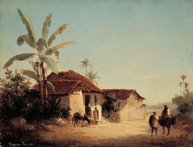 קאמי פיסארו, נוף טרופיקלי