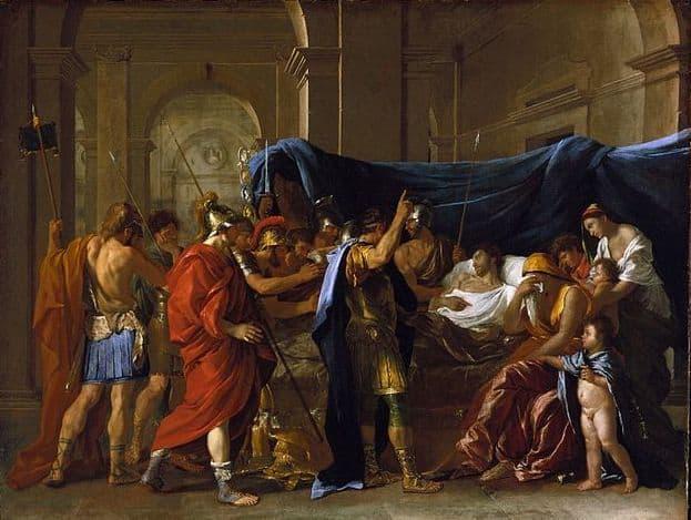 מותו של גרמניקוס, ניקולא פוסן