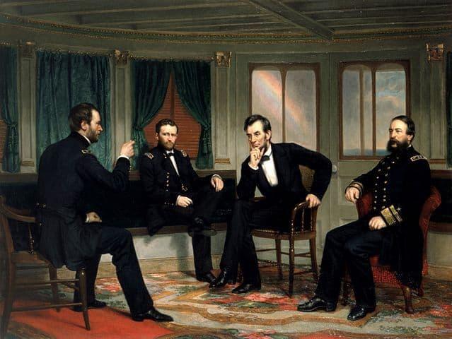 ג'ורג' הילי, עושי השלום, יוליסס גרנט, לינקולן