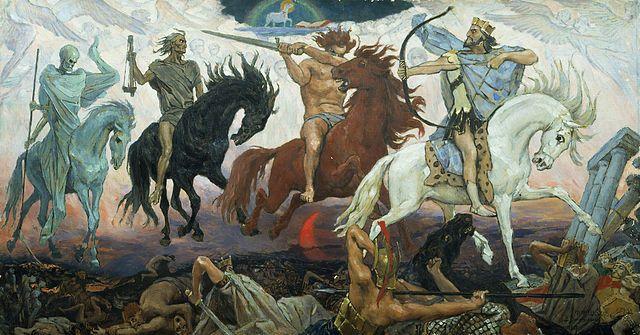 ארבעת פרשי האפוקליפסה, וסנצוב