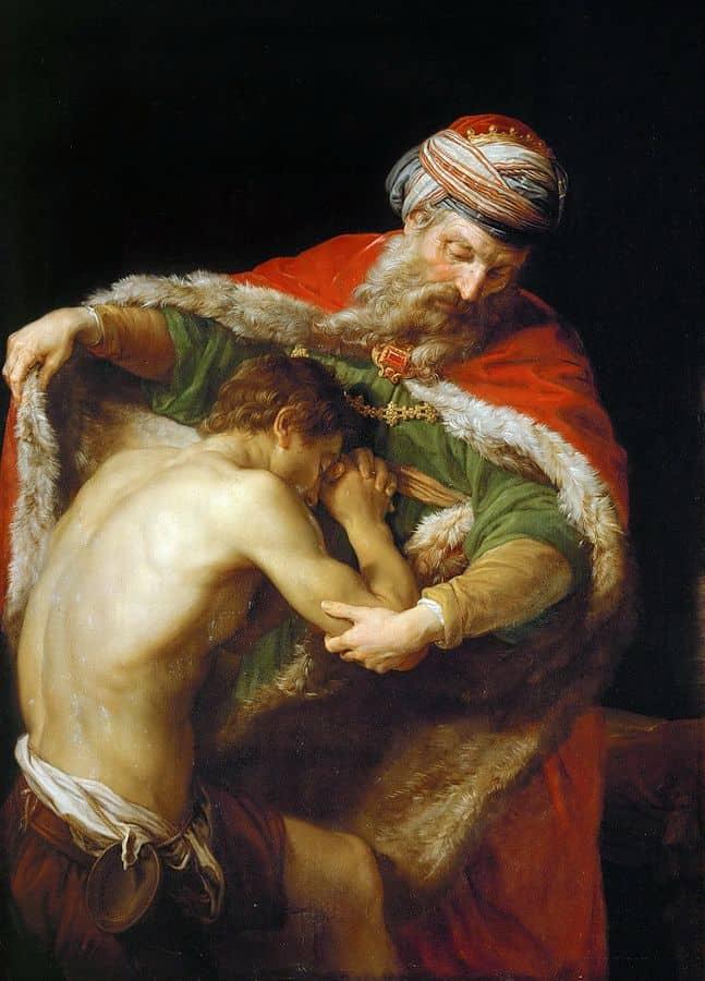 שיבת הבן האובד, פומפיאו באטוני