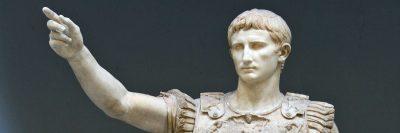 אוגוסטוס, פרימה פורטה, רומא, פסל
