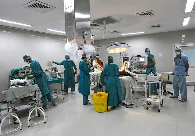 חדר ניתוח, הודו, רג'סטאן, חדר מיון