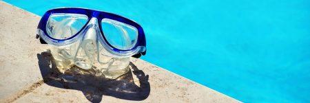 משקפי שחייה, משקפי צלילה