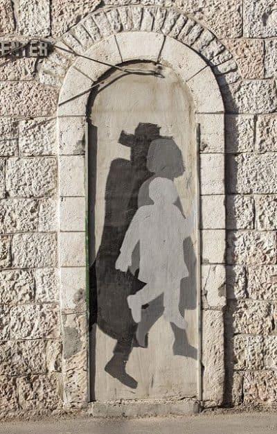 רחוב הנביאים, ירושלים, אמנות רחוב