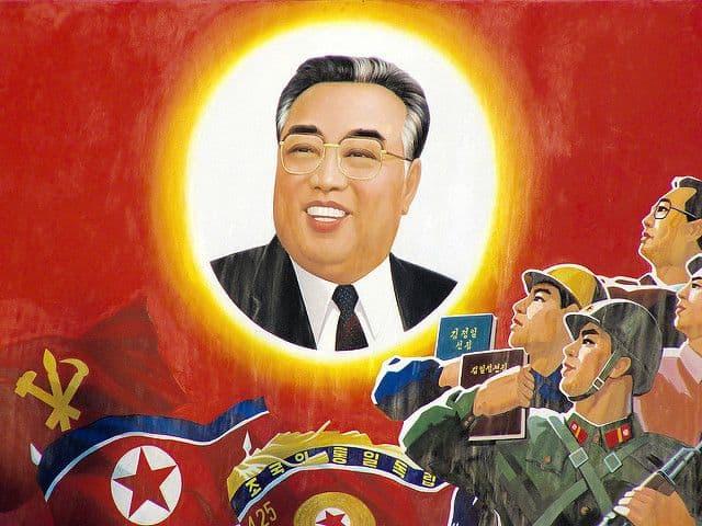 צפון קוריאה, קים איל-סונג, פולחן אישיות