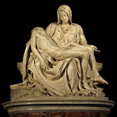 Pietà, פייטה, מיכאלאנג'לו, בזיליקת פטרוס הקדוש