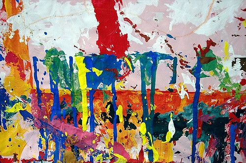 ציור, אמנות, גן ילדים