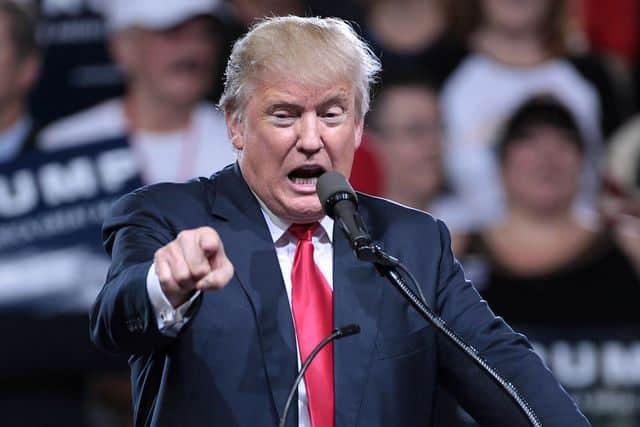 טראמפ, נואם, אסיפת בחירות, אריזונה