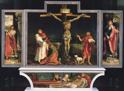 מזבח איזנהיים, קולמאר, מתיאס גרונוולד