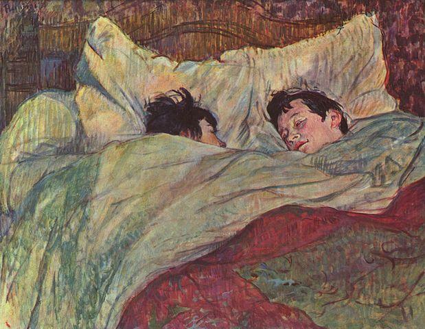 במיטה, טולוז-לוטרק