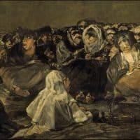 השבת של המכשפות, פרנסיסקו גויא