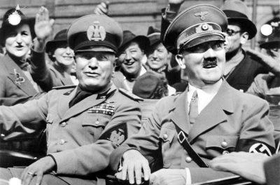 היטלר, מוסוליני, מינכן, 1938