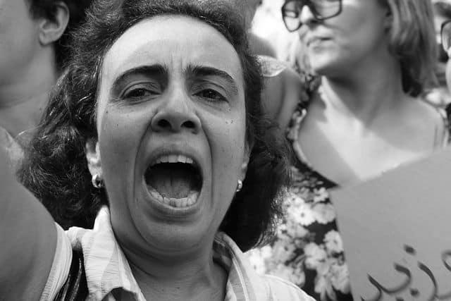 אונס, תוניסיה, הפגנה, נשים