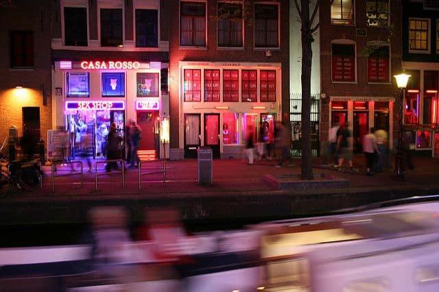רובע האורות האדומים, אמסטרדם