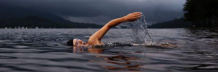 שחייה, אגם