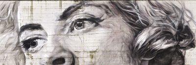 עיניים, אישה, רייקיאוויק, גרפיטי