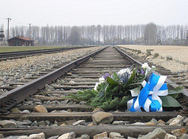 פרחים, זר זיכרון, אושוויץ, בירקנאו