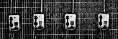 טלפון ציבורי, בית כלא