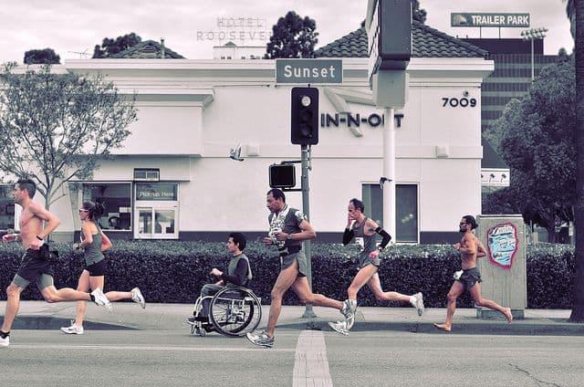 מרתון, לוס אנג'לס