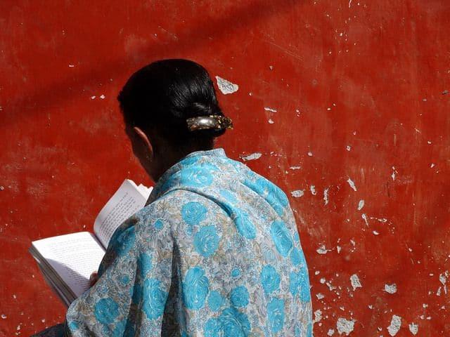 אישה, ניו דלהי, הודו